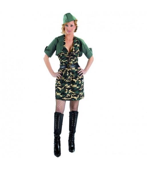 Déguisement Militaire Robe pour femme