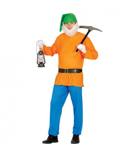 Déguisement Nain Orange pour homme