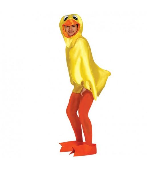 Déguisement Canard de Bain Jaune adulte