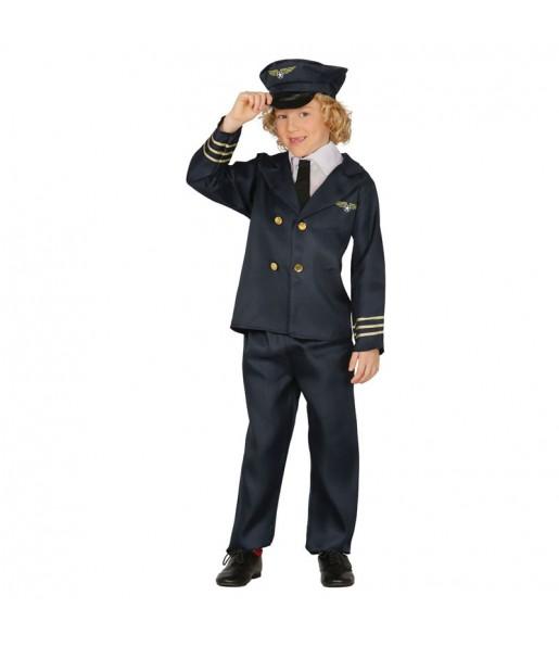 Déguisement Pilote de Vol Enfant