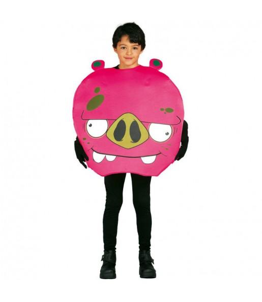 Déguisement Cochon enfant Angry Birds