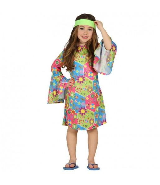 Déguisement Hippie Fleurs fille