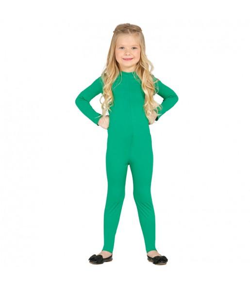 Déguisement Justeaucorps Vert Spandex Enfant