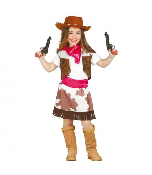 Déguisement Cowgirl de l'Ouest fille