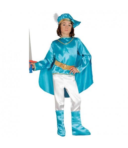 Déguisement Prince Bleu pour garçon