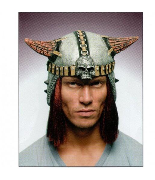 Casque de Viking avec cheveux