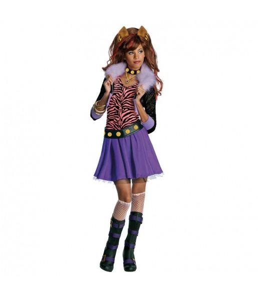 Déguisement Clawdeen Wolf Monster High fille