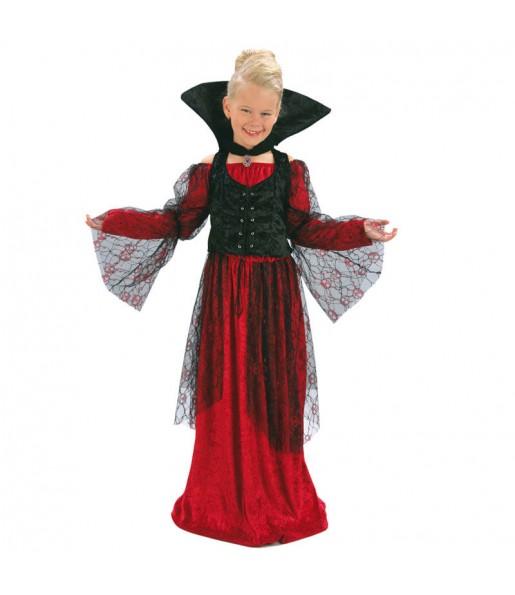 Déguisement Vampiresse Rouge Halloween