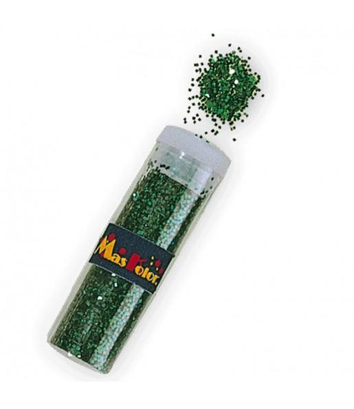 Tube de Paillettes Vert
