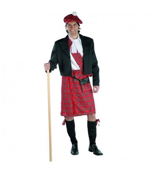 Déguisement Écossais Luxe homme