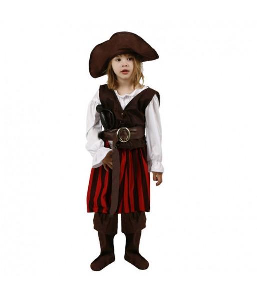 Déguisement Pirate Rayée