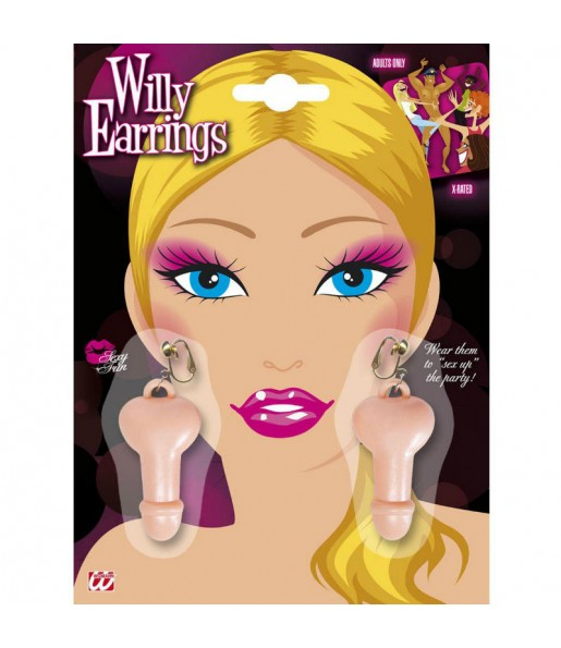 Boucles d'oreilles Willy
