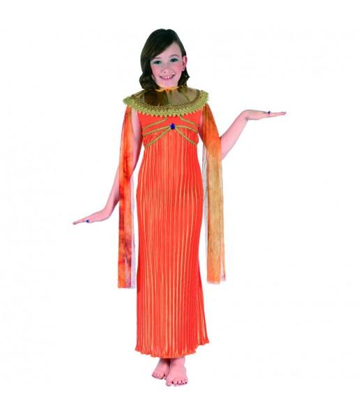 Déguisement Égyptienne Orange