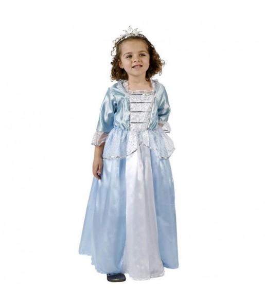 Déguisement Princesse bleue pour fille