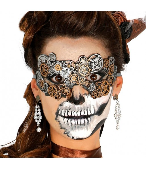 Masque Loup Steampunk Latex