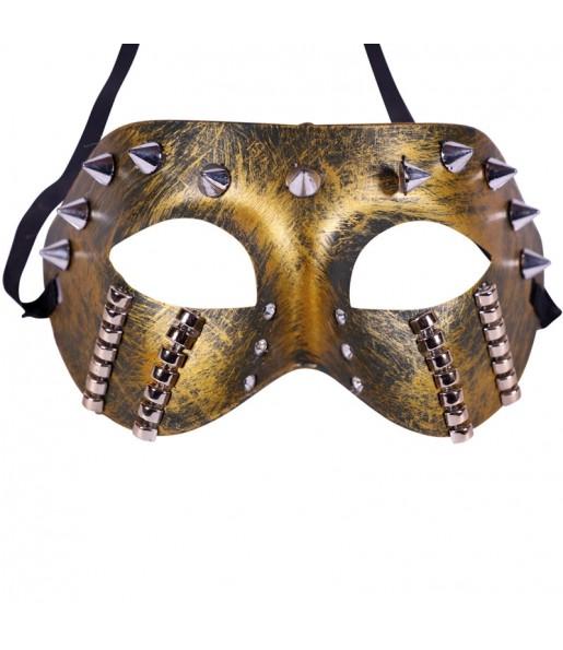 Masque Steampunk à Pointes
