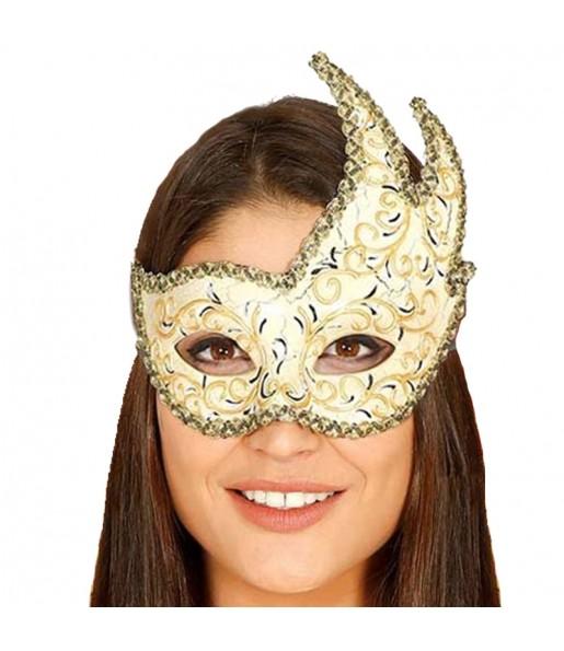Masque Loup Vénitien Belle Époque