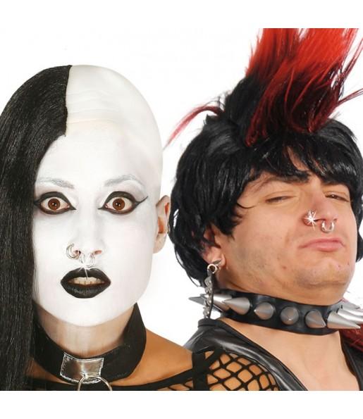 Set Faux Piercings Punk