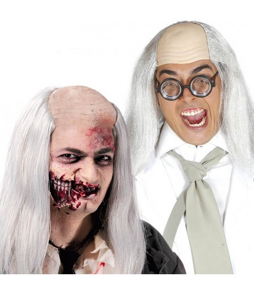 Chauve Zombie avec Cheveux