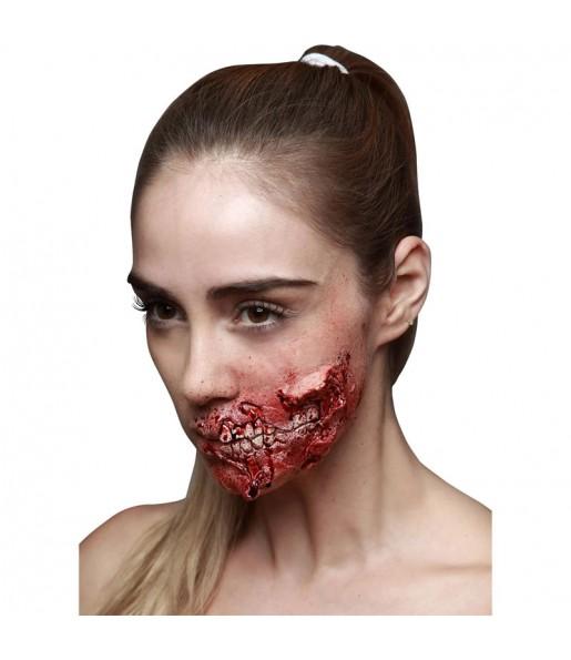 Fausse Cicatrice Zombie en latex