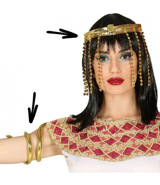 Kit accessoire déguisement Égyptienne