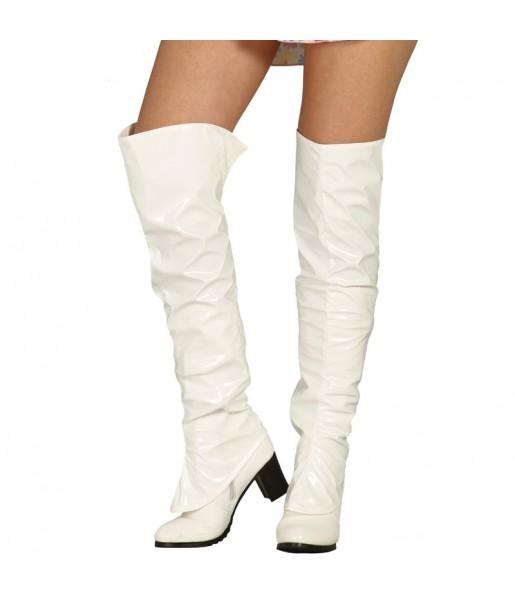 Sur-bottes Blancs femme