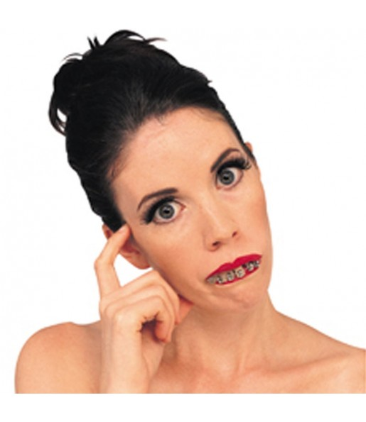 Dentier Dents avec Brackets