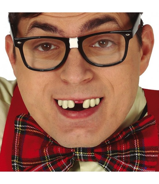 Dentier Dents dentelées