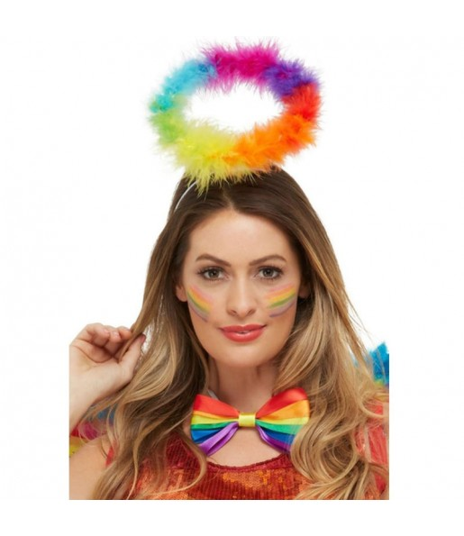 Serre-tête Ange multicolore LGTB