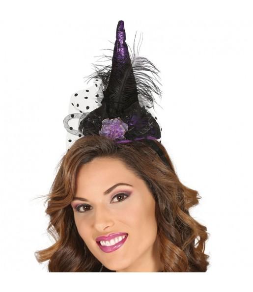 Mini Chapeau Sorcière violet