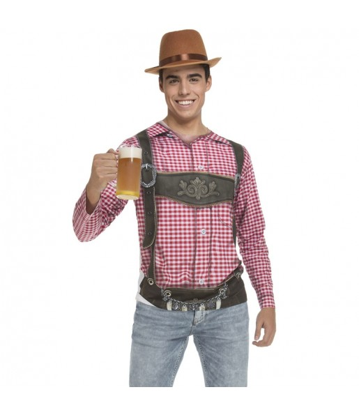 Déguisement Tee-shirt Allemand Oktoberfest adulte