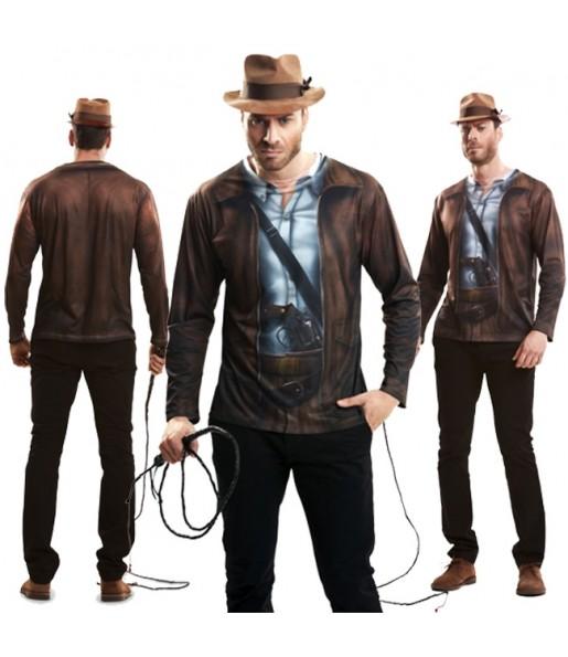 Tee-shirt hyperréaliste Indiana Jones