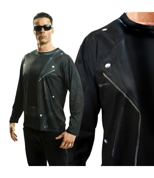 Tee-shirt hyperréaliste Terminator