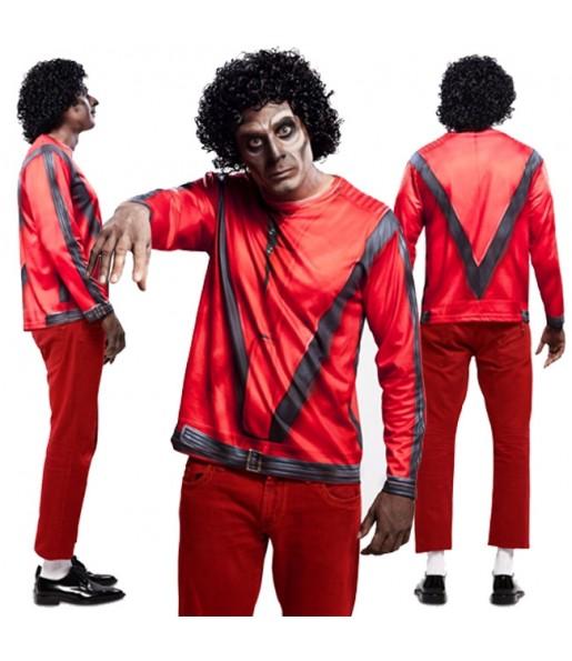 Tee-shirt Thriller hyperréaliste adulte