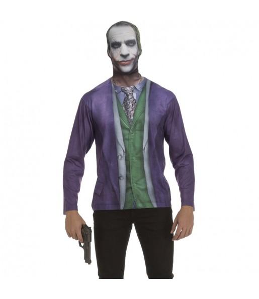 Déguisement Tee-shirt Joker Batman adulte