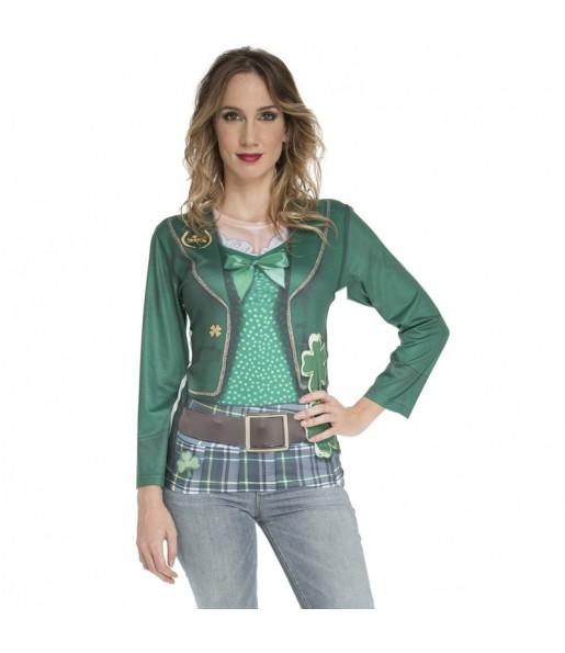 Déguisement Tee-shirt Saint Patrick's femme