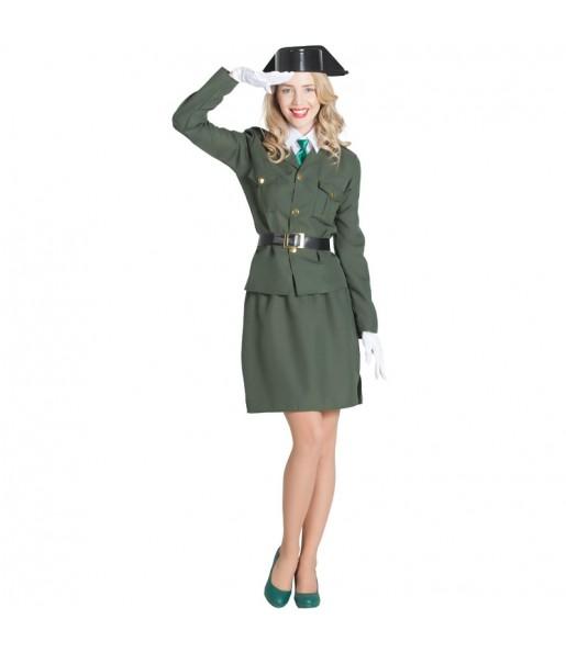 Déguisement Agent Garde Civile femme