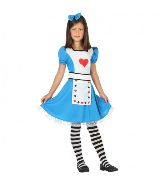 Déguisement Alice au Pays des Merveilles enfant