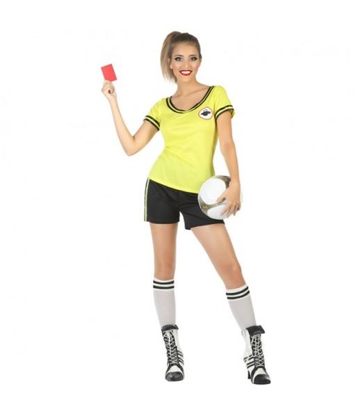 Disfraz de Árbitra de Fútbol