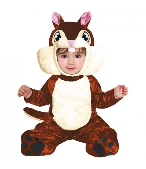 Déguisement Écureuil bébé