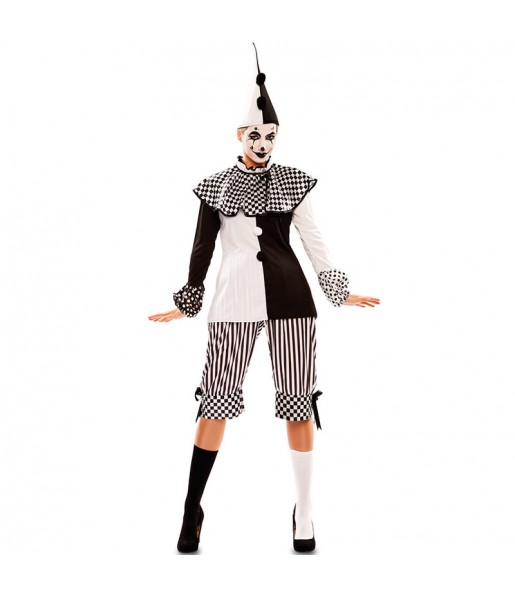 Déguisement Arlequin Cirque femme