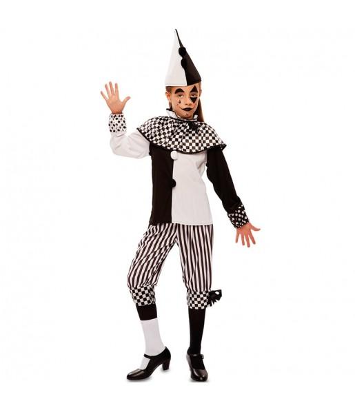 Déguisemen Arlequin Cirque fille