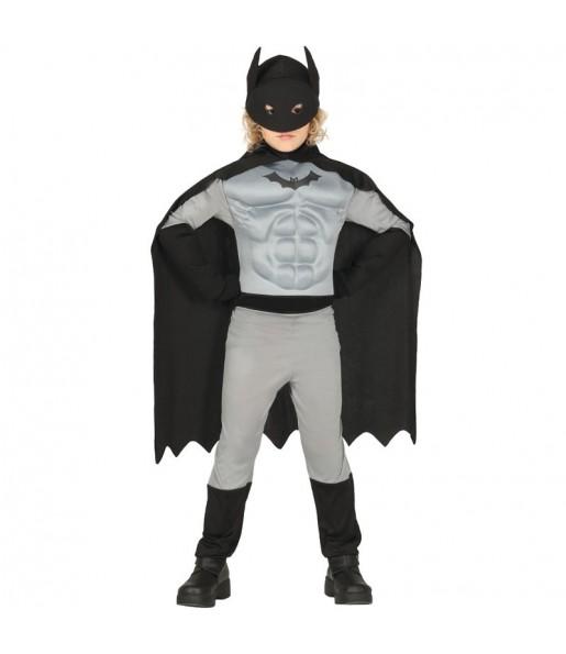 Déguisement Batman musclé garçon