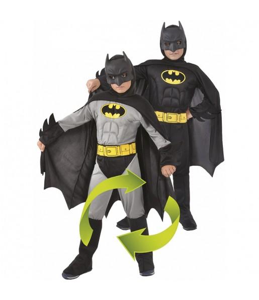 Déguisement Batman musclé réversible garçon