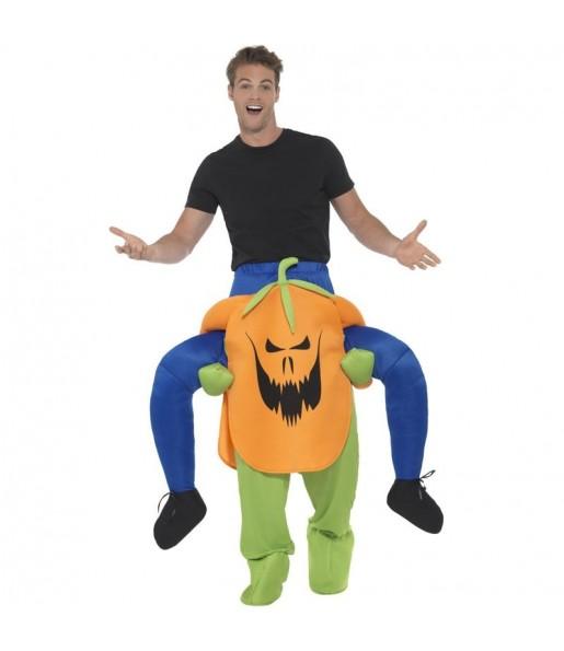 Déguisement Porte Moi Citrouille Halloween pour adulte