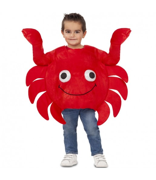 Déguisement Crabe Sébastien garçon