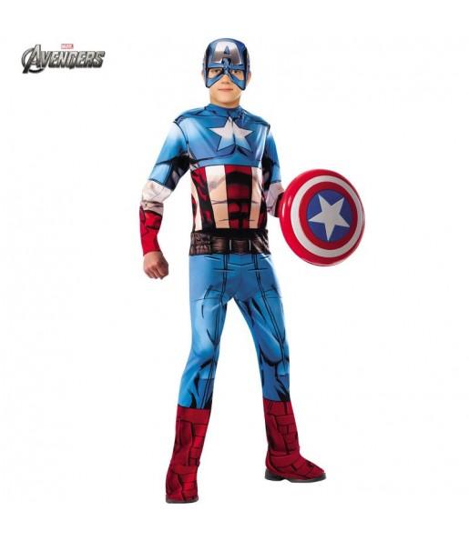 Déguisement Captain America Les Vengeurs garçon