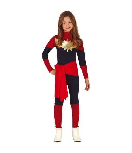 Déguisement Captain Marvel fille