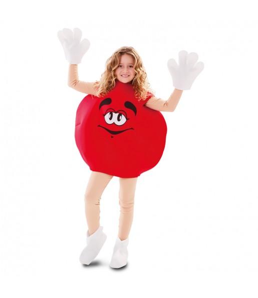 Déguisement Bonbon Rouge Enfant