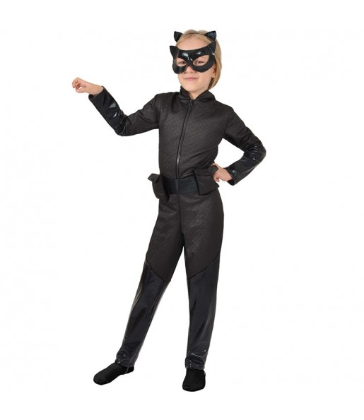 Déguisement Catwoman classic fille